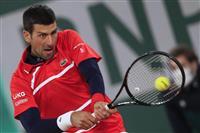 ジョコビッチが11年連続8強、ケニン初の準々決勝へ 全仏テニス
