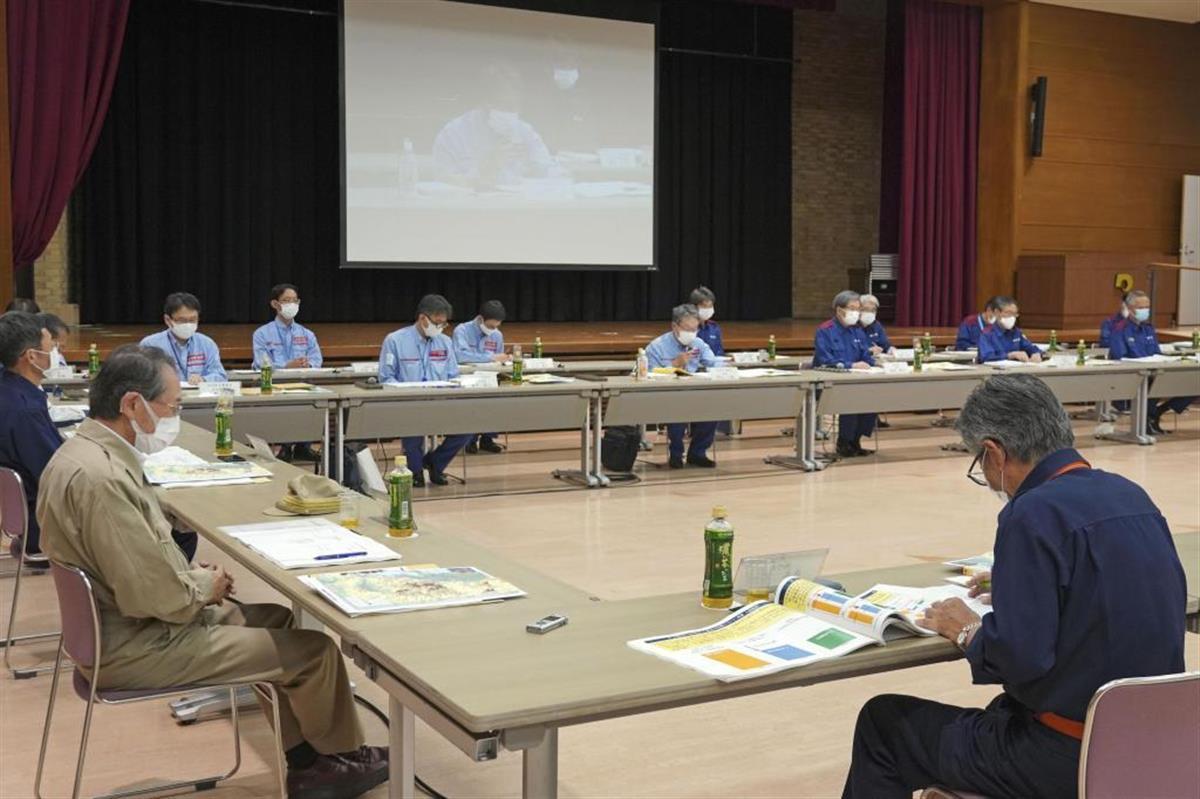 熊本県庁で開かれた豪雨被害の検証委員会