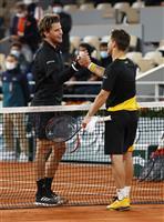 全米王者ティエムは疲労困憊「限界超えた」 全仏テニス
