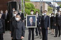 李登輝元総統、台湾の軍墓地に埋葬 蔡英文氏ら参列