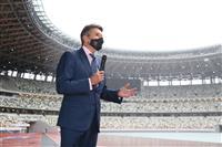 世界陸連・コー会長が国立競技場を視察「非常に美しい」