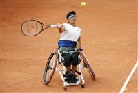 大谷桃子、四大大会初の決勝へ 全仏テニス車いすの部