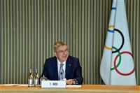 IOC会長、東京五輪は「海外からの観客前提」 経費削減は評価