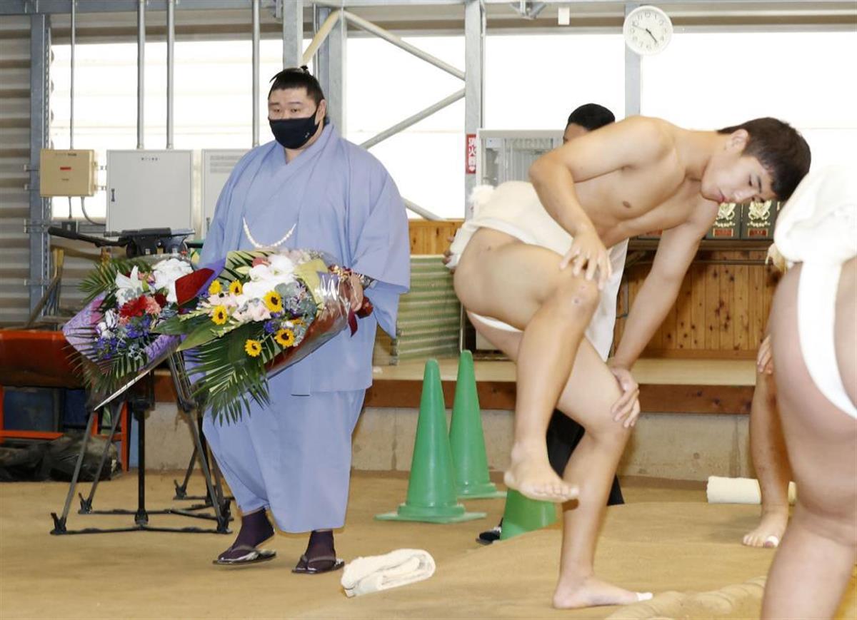 正代関「恩返しできた」 故郷・熊本に凱旋