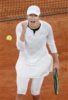 19歳シュビオンテク、ついに決勝へ 全仏テニス女子シングルス