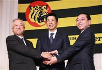 阪神の揚塩球団社長が辞任を発表「球界全体に迷惑かけた」