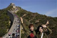 中国の連休人出6億3700万人 予想超も前年下回る