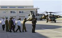 加藤官房長官、普天間飛行場「1日も早い全面返還を実現」 長官就任後、沖縄初訪問