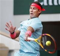 ナダルが決勝進出 全仏テニス第13日