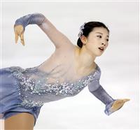 今季引退の永井「何とか耐えた」 フィギュア東京選手権女子で優勝