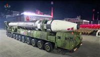 北の夜間軍事パレード 最大級ICBM登場、金氏「抑止力を強化」
