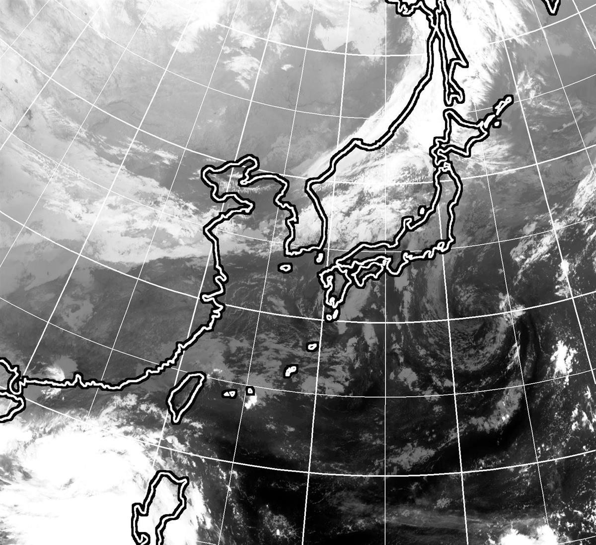 台風14号、再び南の海へ 阻む高気圧、偏西風遠く
