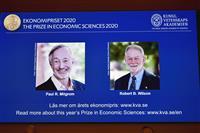 ノーベル経済学賞 米国人2氏に授与 オークション理論の発展に貢献