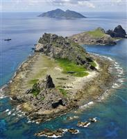 尖閣周辺で中国船の警戒続く 11日から領海とどまり