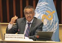 WHO事務局長が「集団免疫」否定 「科学的・倫理的に問題」
