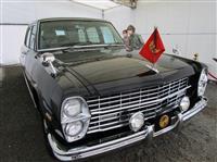 上皇さまや昭和天皇ご愛用の旧御料車「ニッサンプリンス・ロイヤル」特別展示