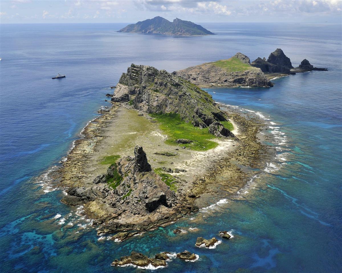 沖縄県の尖閣諸島