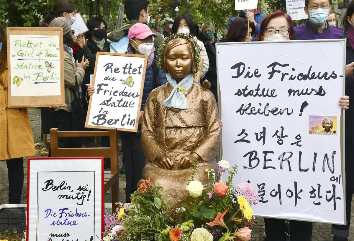 ベルリンの慰安婦像で地元区長「公正な妥協案望む」 関係者の主張精査
