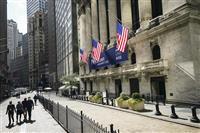 NY株続落、165ドル安 米経済対策への期待後退