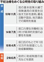 公明、不妊治療対応で埋没懸念 議論20年超、菅首相にお株奪われかねず
