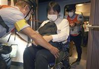九州新幹線で人身事故訓練 JR九州、乗客を安全避難