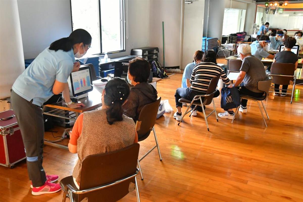 西部ガス関連フィットネスクラブが健康測定で誘客イベント 福岡