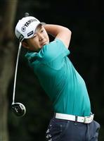 アイアン好調の今平、国内三大大会初制覇へ好発進 日本OPゴルフ