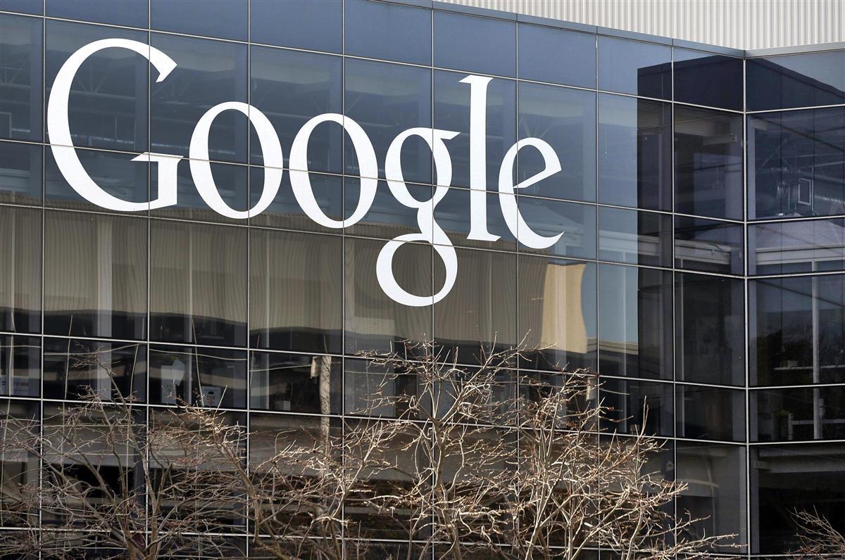 米グーグルの本社=2013年1月(AP=共同)