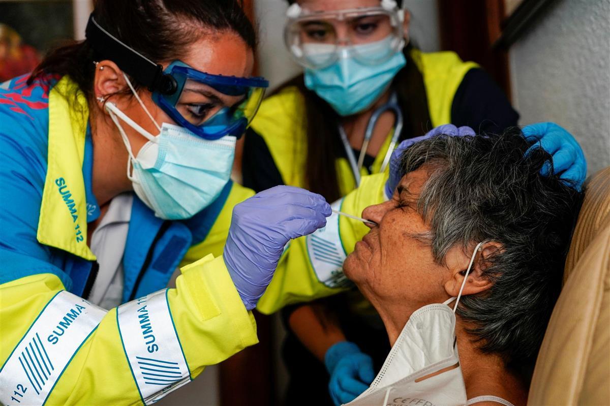 欧州感染者560万人超 ブラジル上回る EU非公式首脳会議開…