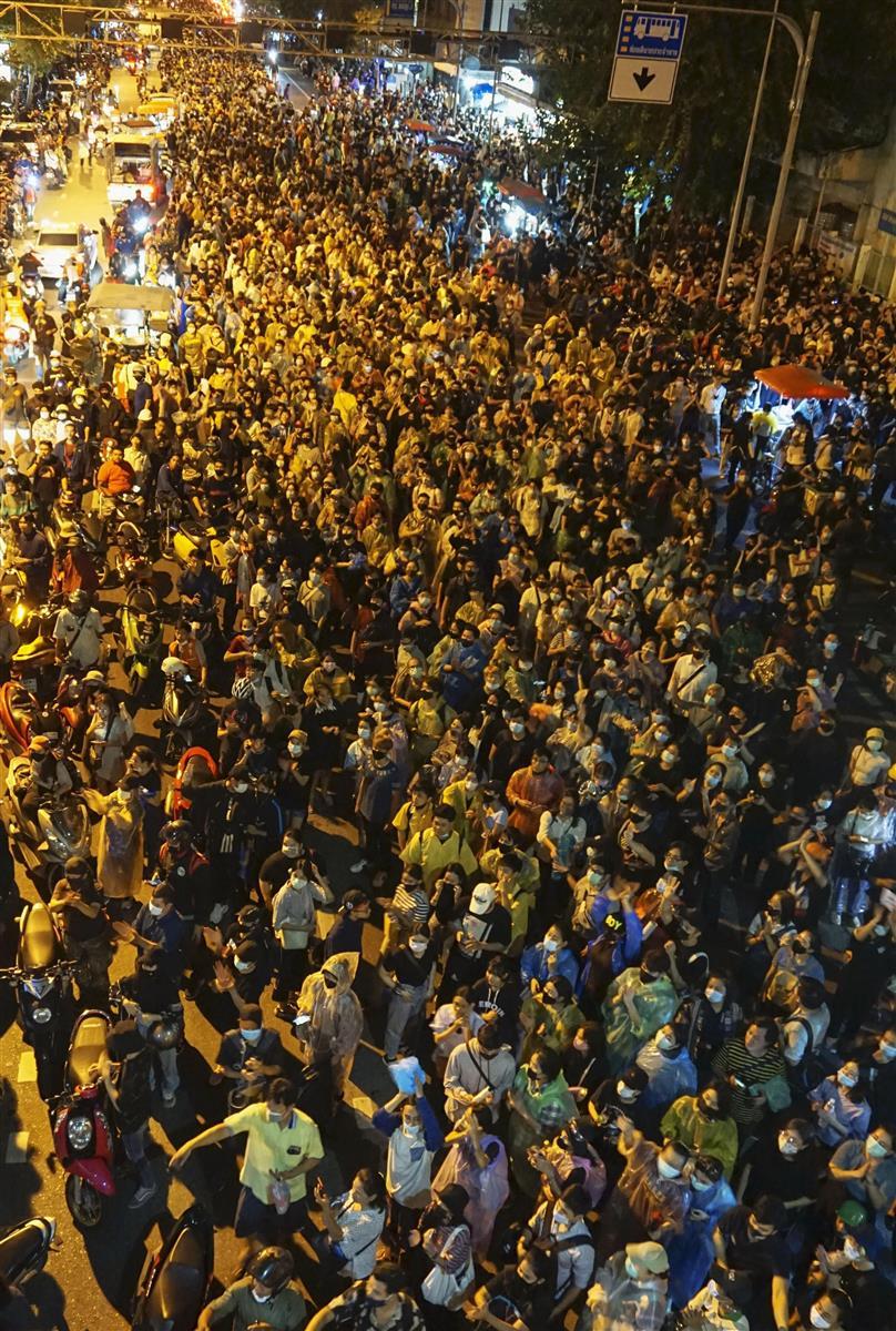 タイ首都の非常事態解除 デモ収束は不透明