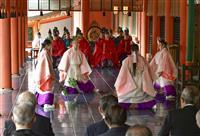 時代祭、平安神宮で神事 新型コロナで行列中止