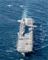 空自F35が米軍と初訓練 太平洋上で、揚陸艦参加