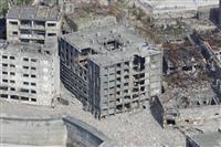 「軍艦島」建物、崩落進む 最古の鉄筋アパート 修繕や保全困難 長崎