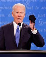 【米大統領選・最終討論会】(6)バイデン氏、米朝会談で「金氏に正当性与えた」と批判