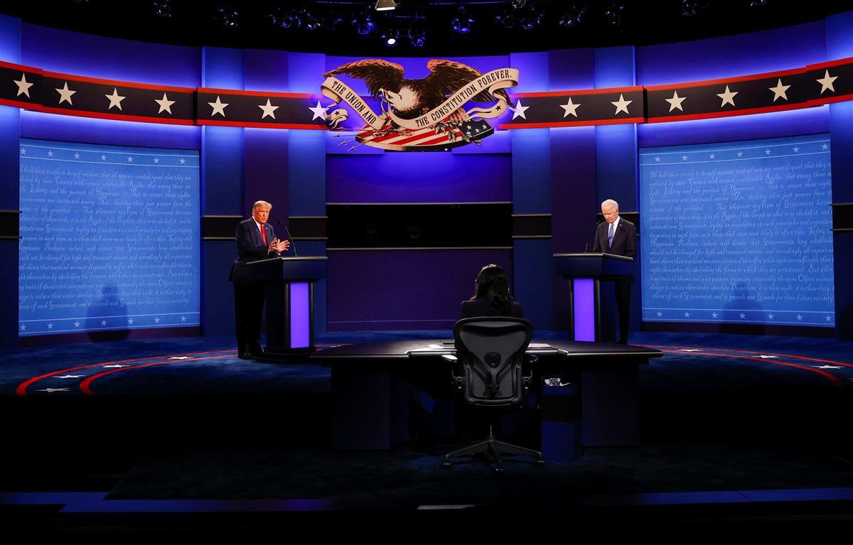 【米大統領選・最終討論会】(完)バイデン、トランプ両氏が資質…