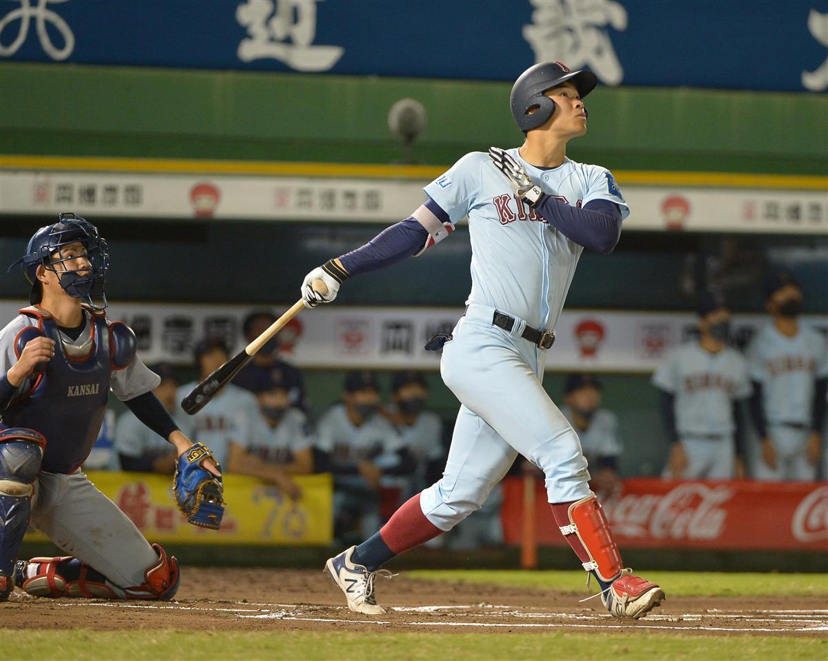 ドラフト1位指名で競合確実、近大・佐藤は「田淵2世」