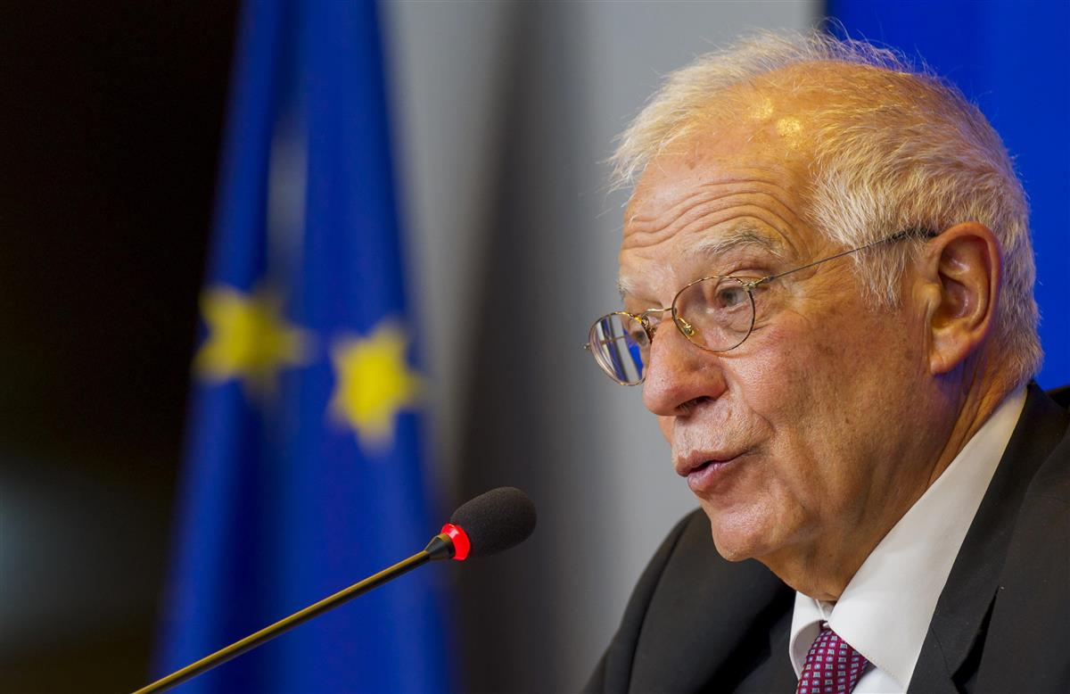 米EU、中国めぐり対話開始 外交トップが電話会談