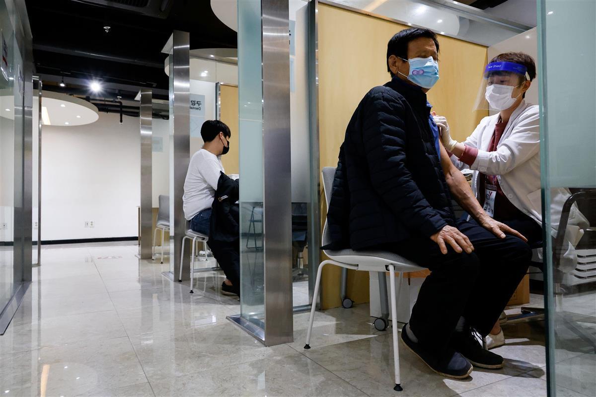 韓国でインフル予防接種後に48人死亡 当局は因果関係否定