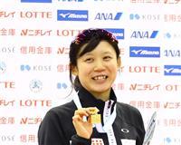 高木美、大会新で5連覇 全日本距離別スケート
