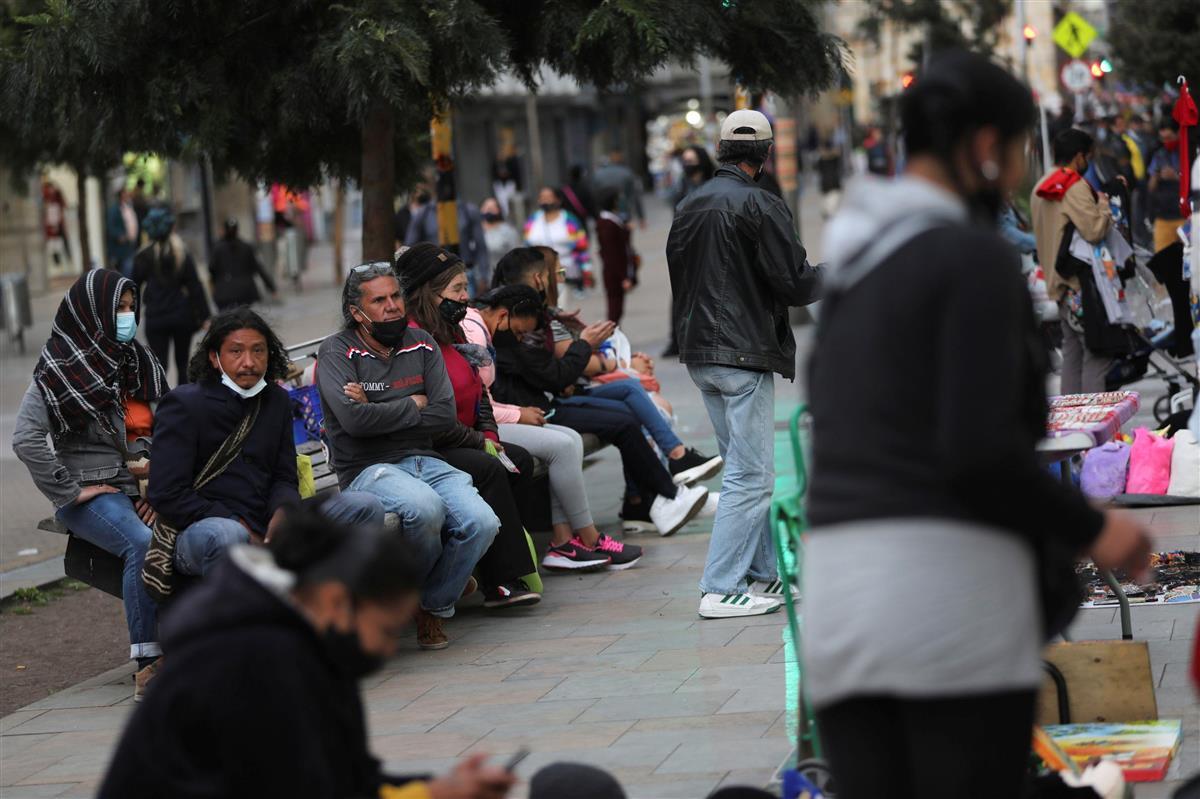 コロンビア感染百万人超 世界で8カ国目