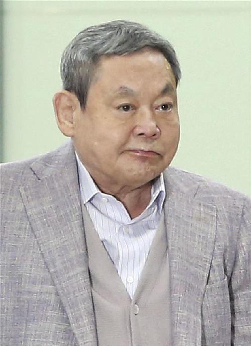 サムスン電子会長、李健煕氏が死去 韓国最大グループの事実上ト…