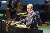 「世界的運動の到達点」 国連総長、条約を評価