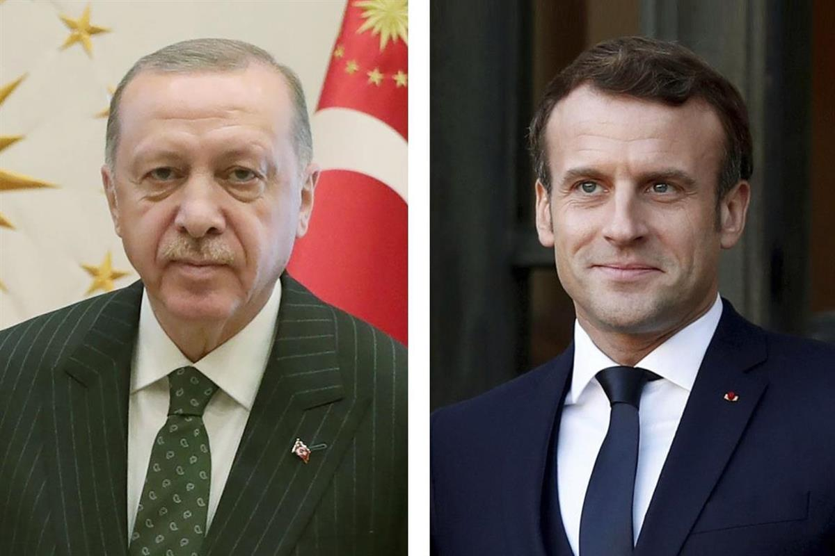 マクロン氏は「治療必要」、トルコ大統領、仏は猛抗議
