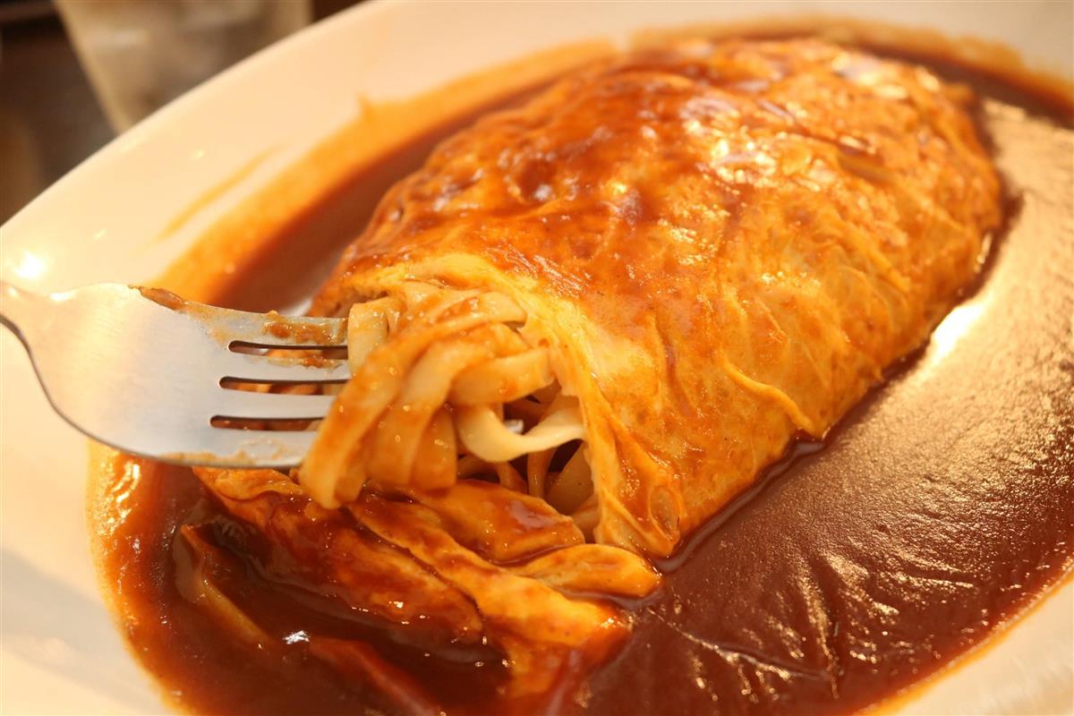 謎の卵包み麺「ブールヌードル」 湖国で生まれた郷土食