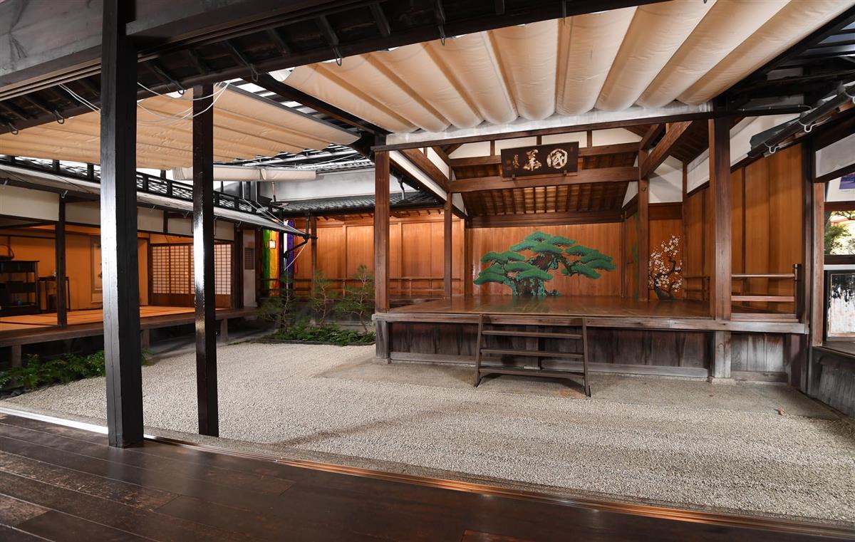 個人宅の能楽堂、12月にイベント開催 大阪・岸和田