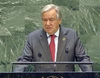 国連総長が日本の温室ガス削減を評価 EUも歓迎
