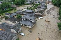 7月豪雨も対象拡大を適用 生活再建支援金で小此木防災担当相