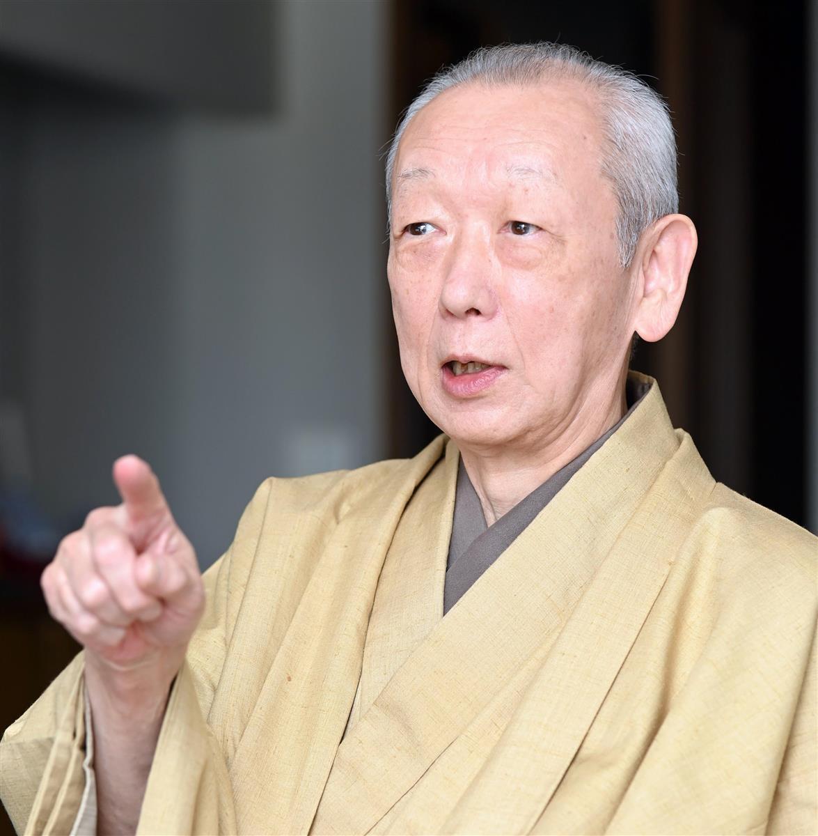 「文化功労者」文楽三味線・鶴澤清治さん(75)太夫とぶつかり…