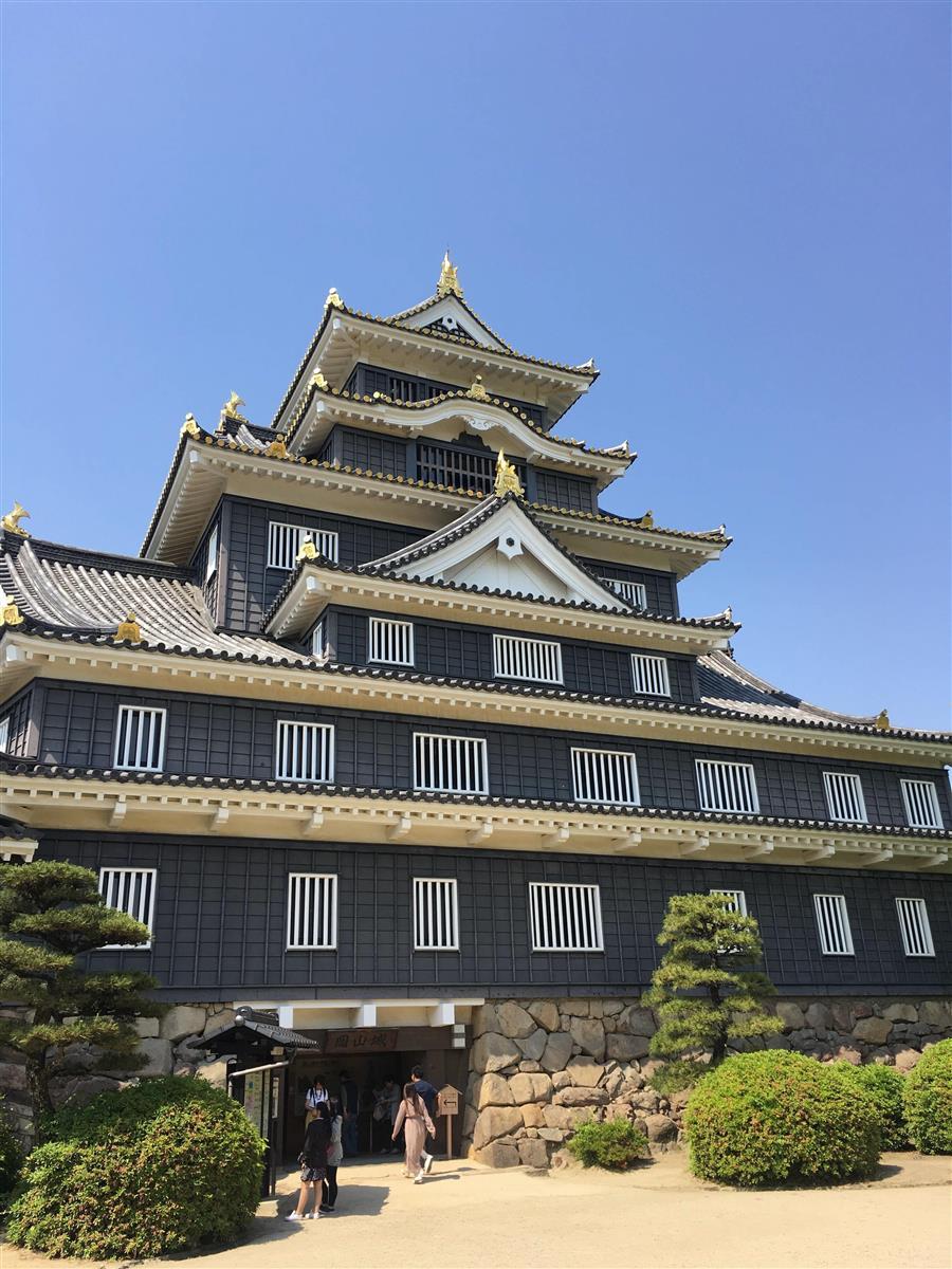 岡山城にアスベスト 来年度の改修工事で撤去へ