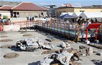 政府、首里城再建工程の前倒しも検討 焼失から1年